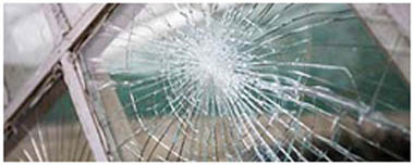 Prestwich Smashed Glass